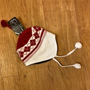 Red Wings Winter Hat - NWT